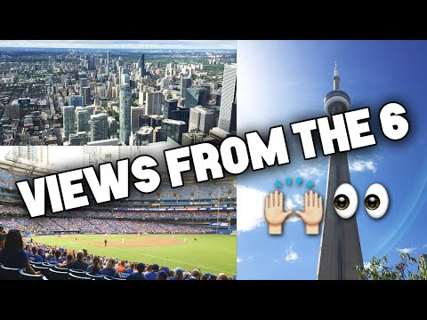 VIEWS FROM THE 6! My Trip to Toronto! (Blue Jays vs Angels Game)