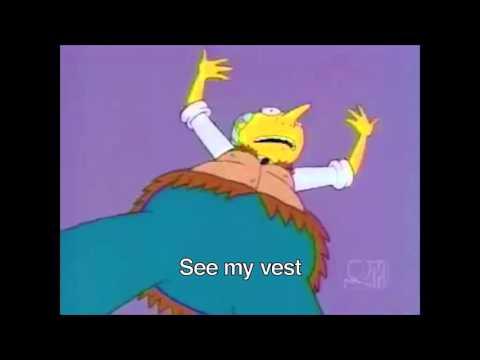 The Simpsons Karaoke - See My Vest