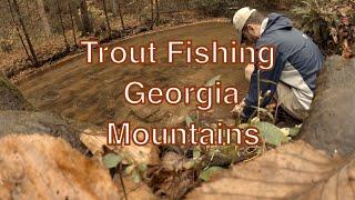 Rainbow Trout Fishing aฑd Camping in North Georgia Mountains - Blue Ridge
