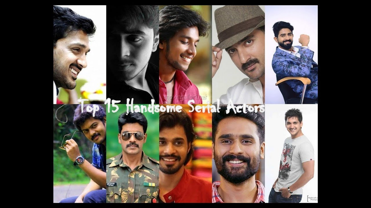 Top 15 Handsome Tamil Serial Actors || Youngsters Favorite