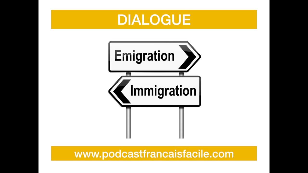 interview : immigration expatriation dialogue fle
