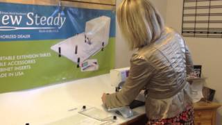 How To Install Legs Onto A Sew Steady Table
