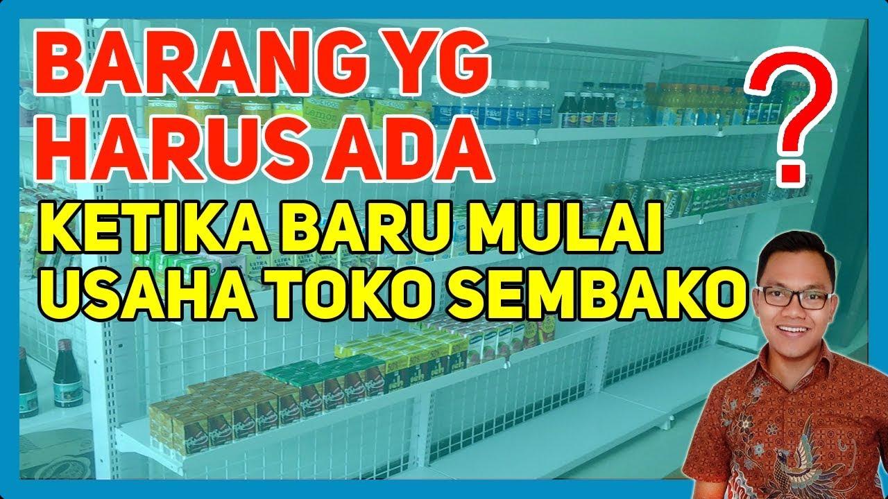 Usaha Rumahan Toko Sembako - Cara Memulai Usaha - YouTube