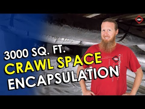 Crawl Space Encapsulation Knoxville TN After Video Set to Music | Crawl Space Repair Knoxville TN