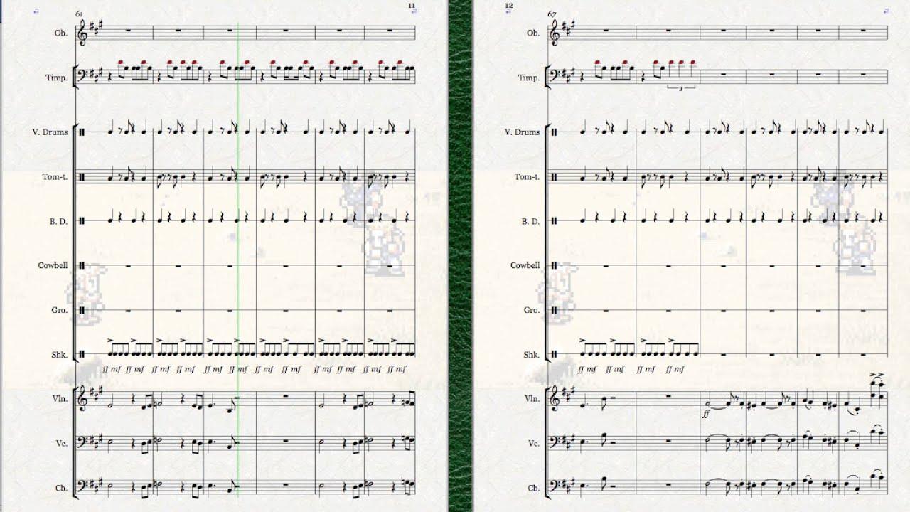 17 The Veldt Sheet Music Final Fantasy VI Aural