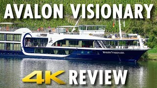 Avalon Visionary Tour & Review ~ Avalon Waterways ~ Cruise Ship Tour & Review [4K Ultra HD] thumbnail