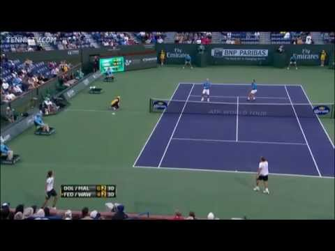 Download Malisse & Dolgopolov's Hot Shot Hands In Indian Wells Doubles Final