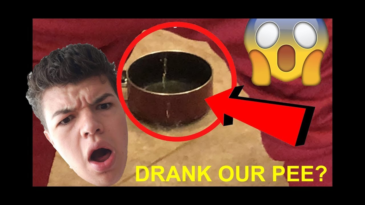 Drinking My Own Urine! - YouTube
