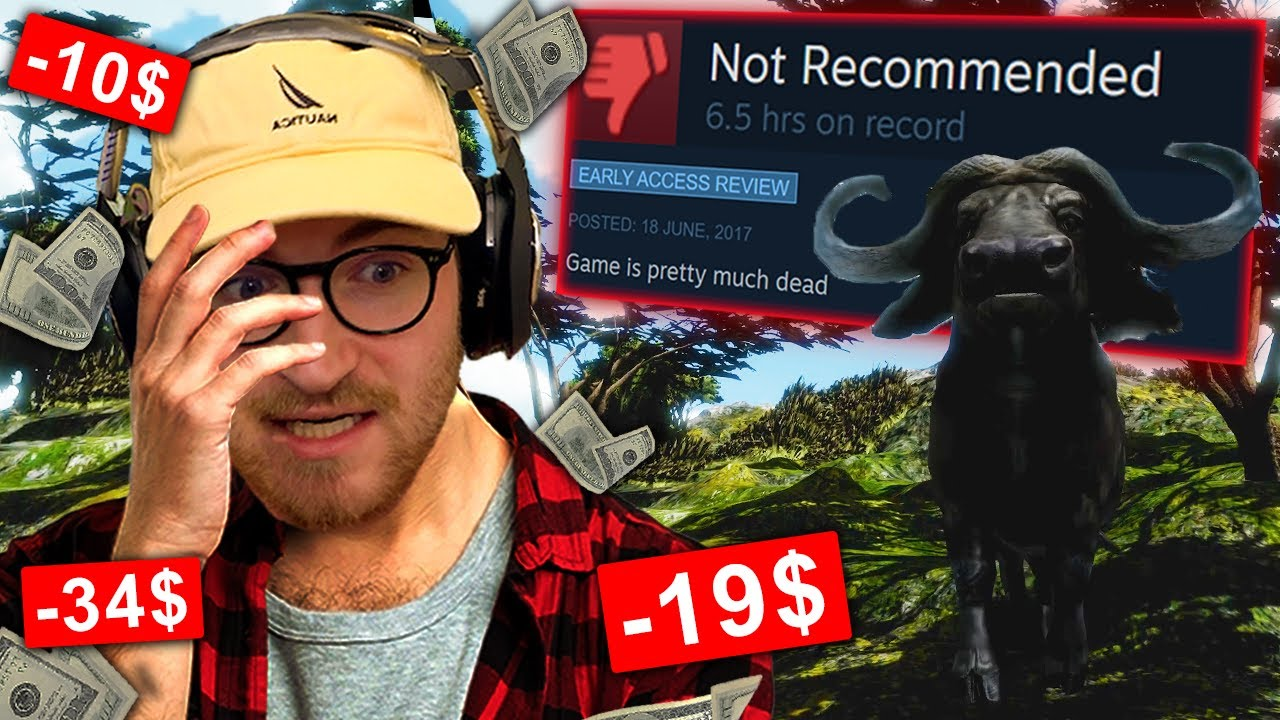 Download I played the LOWEST Rated Survival games on Steam...