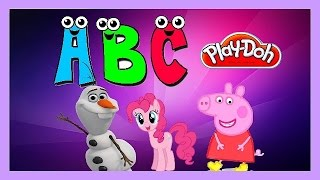 Play-Doh ABC My Little Pony Peppa Pig Frozen Toys