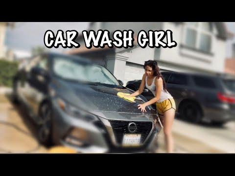 Car wash girl