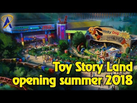 New look at Toy Story Land coming to Hollywood Studios and Shanghai Disneyland