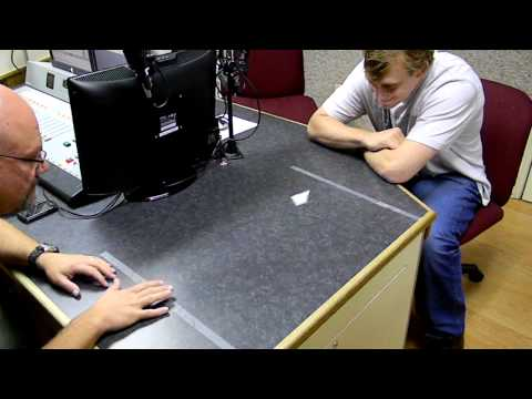 Chad Pennington vs. Woody - Paper Football