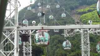 Ocean Park Hong Kong - Spectacular & Breathtaking Cable Car View!!!