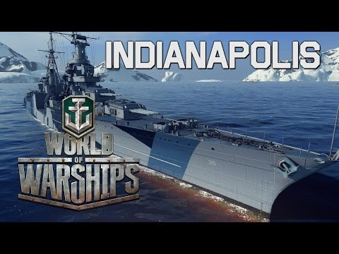 World of Warships - Indianapolis Premium
