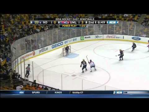 Hockey East Semifinal - UMass Lowell vs. Notre Dame - 3/21/14