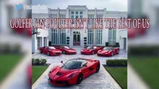 Pro Golfer Ian Poulter owns five Ferraris