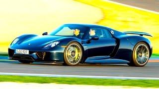 Porsche 918 Spyder, тест драйв – КлаксонТВ