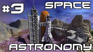 Minecraft Space Astronomy - Farming and Mining! #3