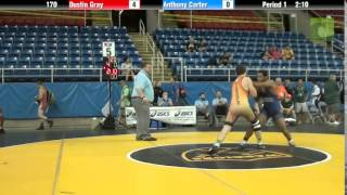 170 Dustin Gray vs. Anthony Carter