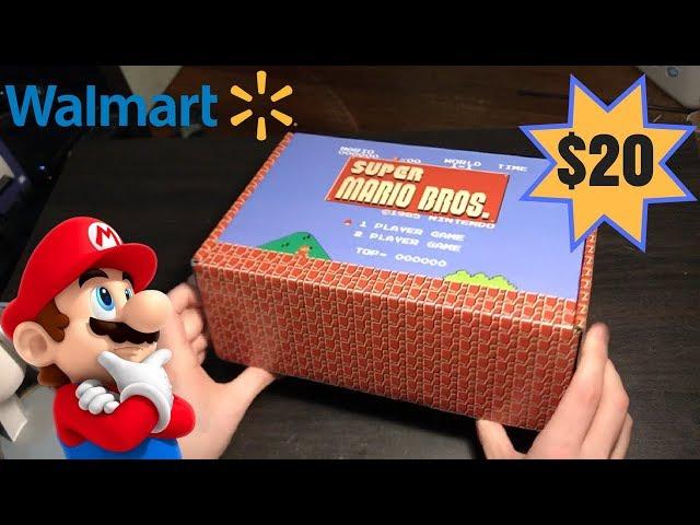 Super Mario Bros. Walmart Mystery Box UNBOXING   Worth It??