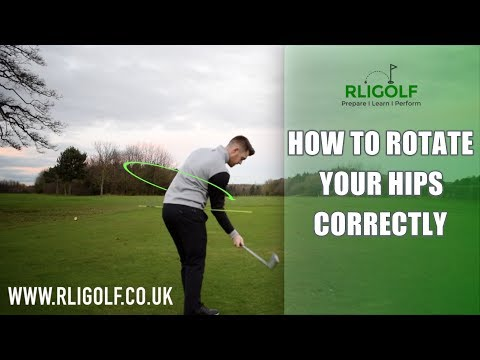 How To Rotate Your Hips Correctly In The Golf Swing