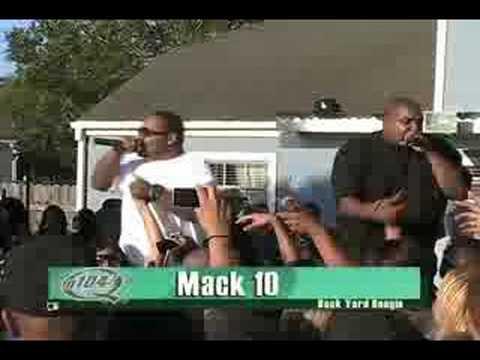 Mack 10 Backyard Boogie with Q104.7 - YouTube
