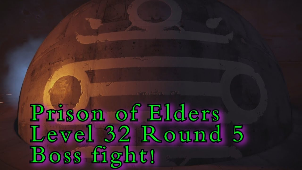 Prison of elders 32 matchmaking