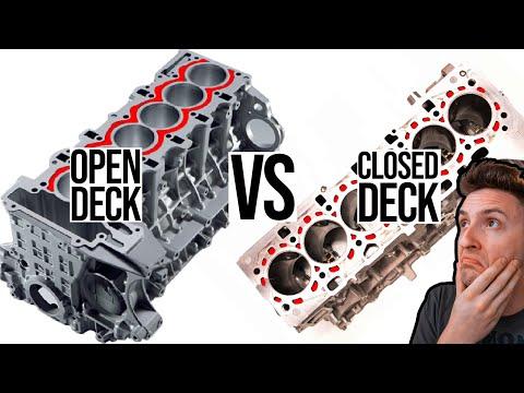 Open Deck vs Closed Deck | Engine Fundamentals