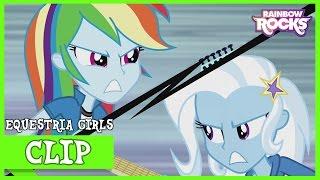 MLP: Equestria Girls - Rainbow Rocks 'Duelo de Guitarras' [Español Latino]