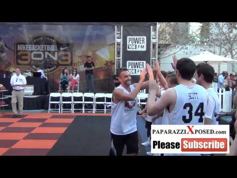 Jay Harrington at the 5th Annual Nike Basketball 3ON3 Tournament at LA Live in Los Angeles