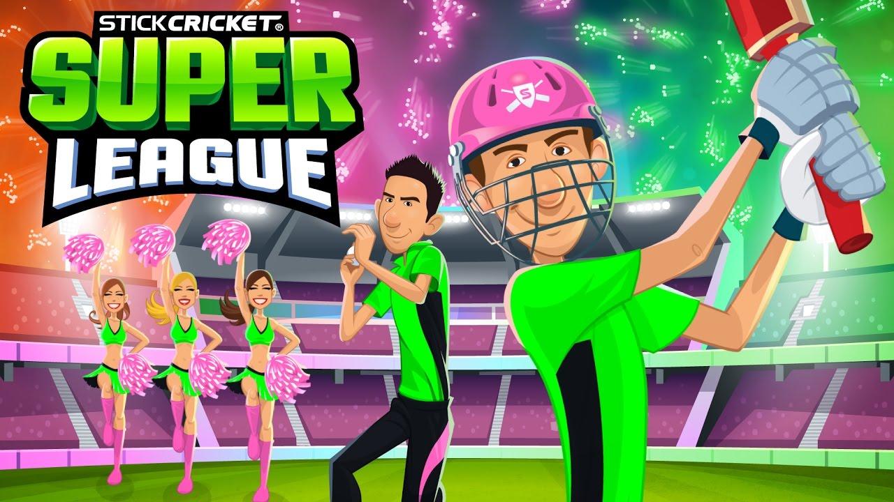 Risultato immagini per Stick Cricket Super League