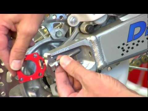 Chain Adjuster Blocks Japanese Off Road Models