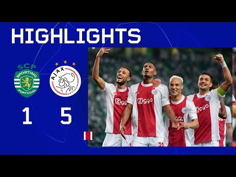Haller maakt er 4!! 🤩 | Highlights Sporting CP - Ajax | UEFA Champions League