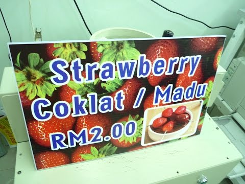 FOOD SIGN : PAHANG, ROMPIN, Signs Shop, Signboard Company, Signage Supplier