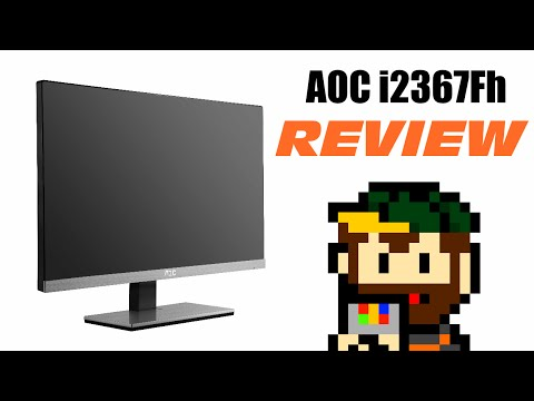 AOC i2367Fh REVIEW - 02. The Monitor