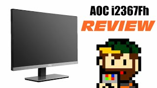 aoc i2367fh review 02 the monitor