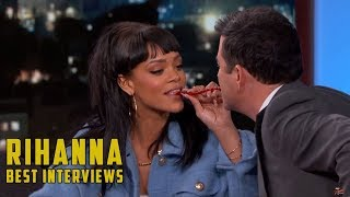 Rihanna Best Funny Interview Bits