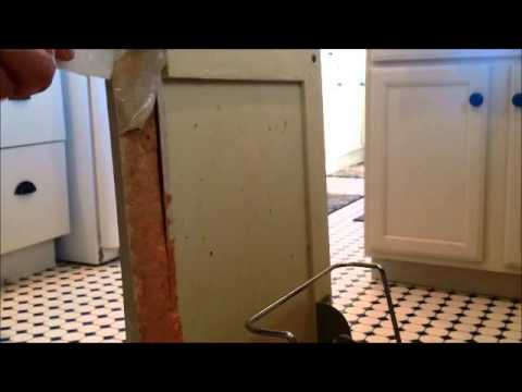 Particle Board Furniture Repair Youtube