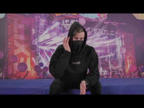 Alan Walker Interview @ EXIT 2017