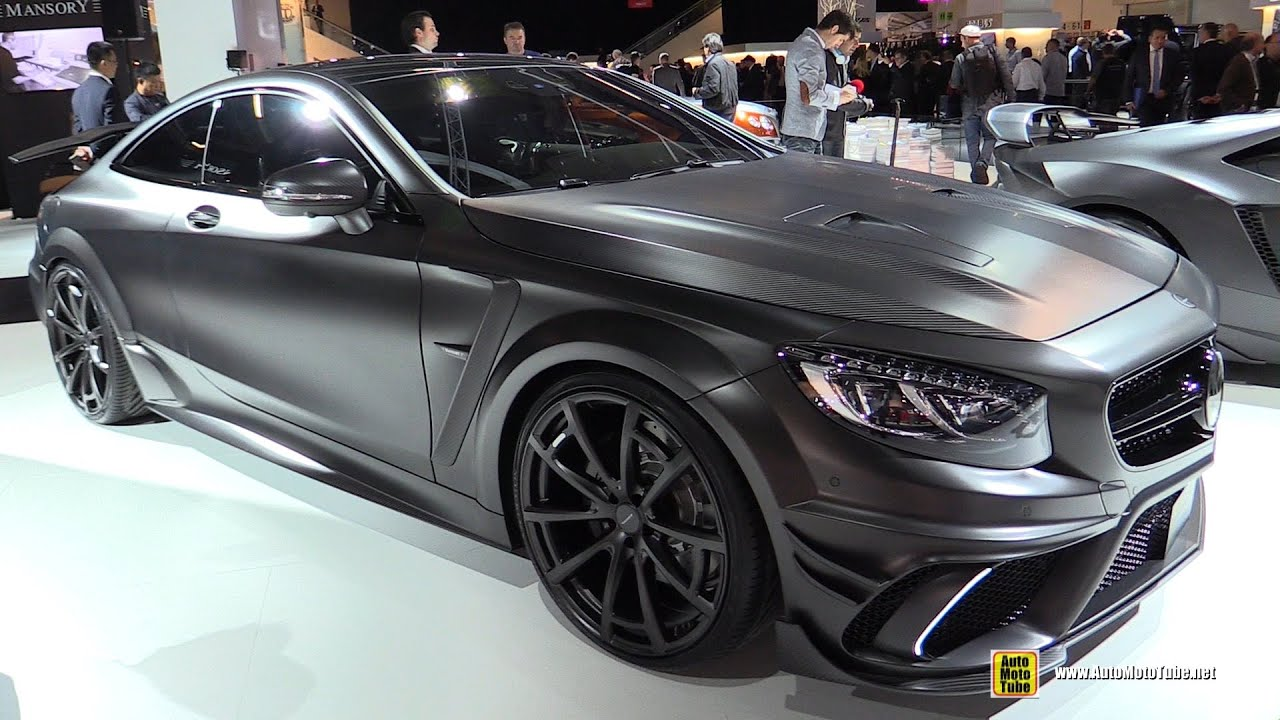 2016 Mercedes S63 Amg Coupe Mansory Black Edition 1000hp