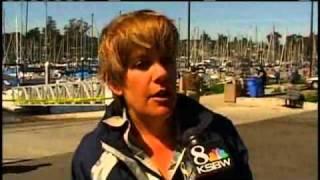 Tsunami Damages At Least 100 Boats In Santa Cruz Harbor