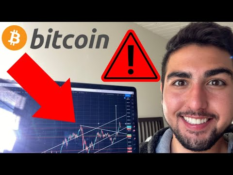 BITCOIN WARNING! DUMP INCOMING! MUST HOLD THIS LEVEL OR ELSE