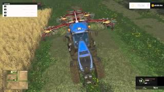 Farming Simulator 2015 | Le Guide Des Débutants | Ep 05 - L'Herbe, Le Foin Et La Paille