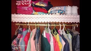 افكار كتير لترتيب الدولاب وترتيب ملابس بنتي وتخزين ملابس الشتاء