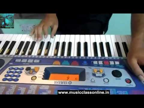 Learn Keyboard Online Guru Western classical Keyboard music training Free videos online mp4