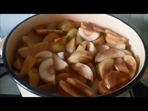 Как сделать компот из яблок