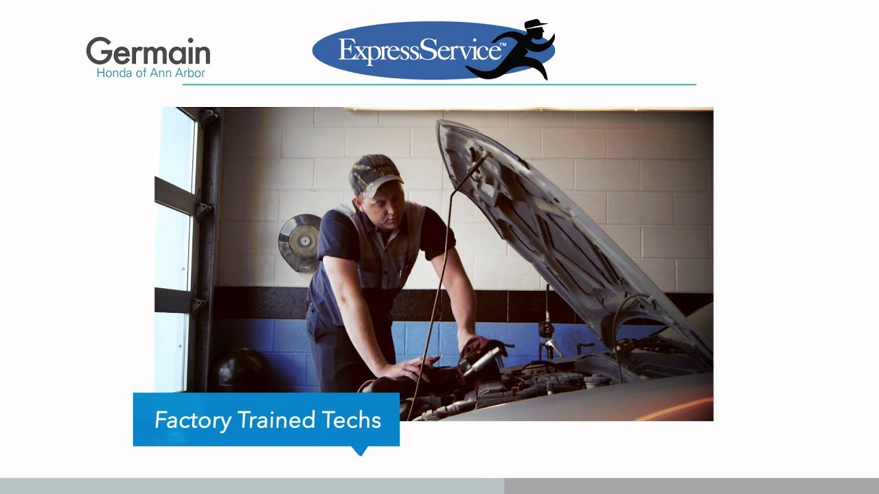 Germain Honda Service >> Express Service At Germain Honda Of Ann Arbor