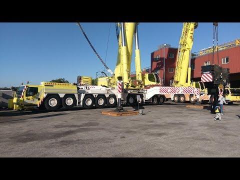 啟德機械起重工程LIEBHERR LTM11200-9.1 1200噸級輪胎式吊車