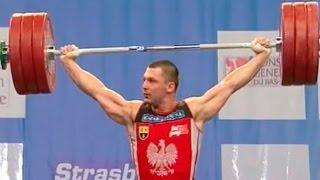 2007 European Weightlifting Championships, Men 94 kg \ Тяжелая Атлетика. Чемпионат Европы